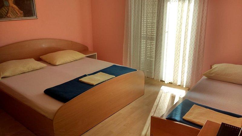 Dormitorio, Superficie: 16 m²