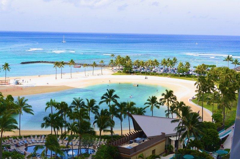 Astonishing Ocean Front at Ilikai with Diamond Head View, vacation rental in Honolulu