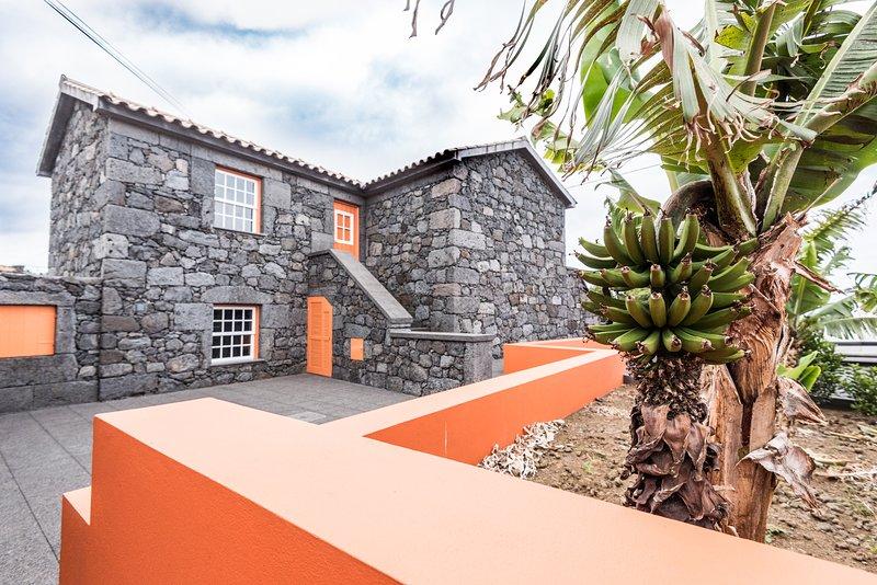 Casa Céu d'Abraão - Apartamento Faia, aluguéis de temporada em São Jorge