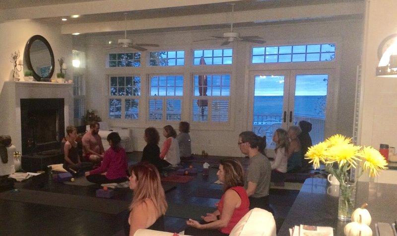 Yoga en la sala
