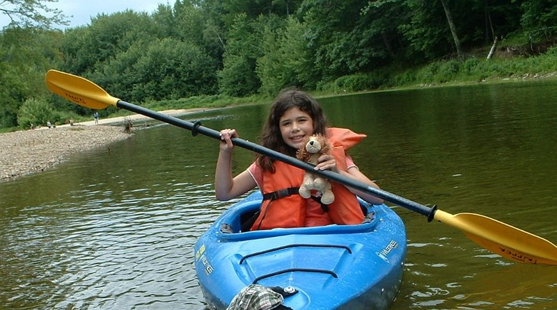 Kayaking on the many lakes, rivers and ponds are just minutes away.