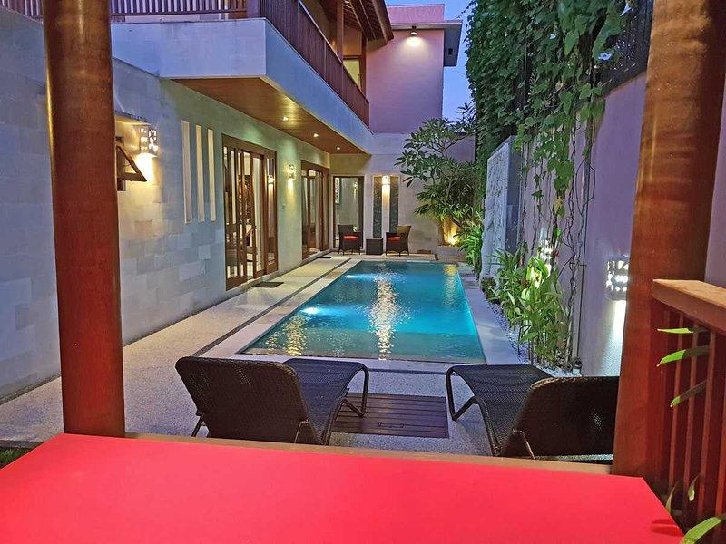 Villa Zendoa - Elegant 3 Bedroom Pool Villa, Short Walk to Sanur Beach, holiday rental in Serangan