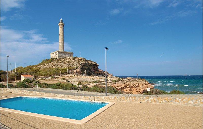 Awesome home in Cabo de Palos with Outdoor swimming pool and 3 Bedrooms (ECC829), alquiler de vacaciones en Cabo de Palos