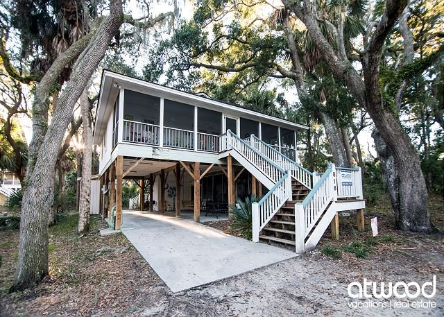 Geechee Girl - Screened Porch; Private Location & Easy Beach Access, holiday rental in Edisto Island