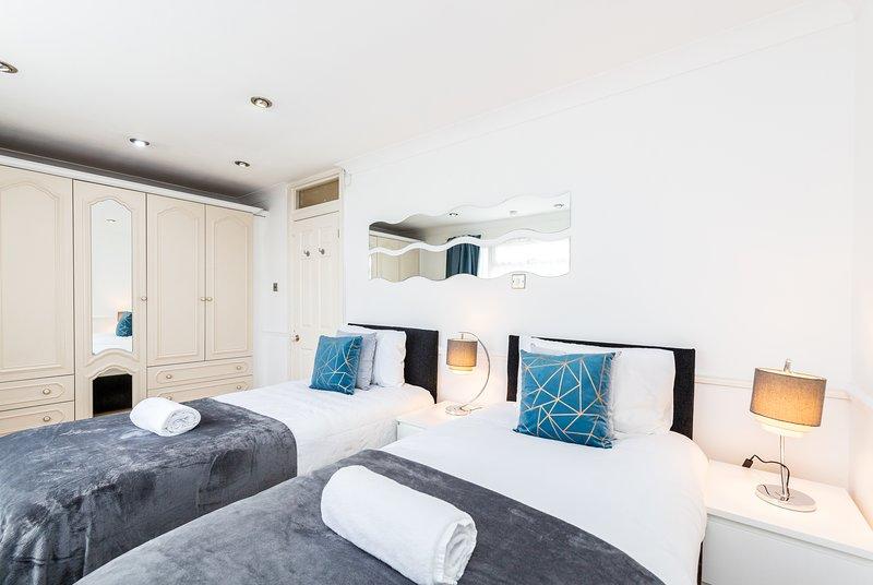 Chambre 1 - 2x lits simples