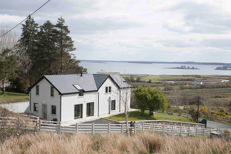 House with lake view