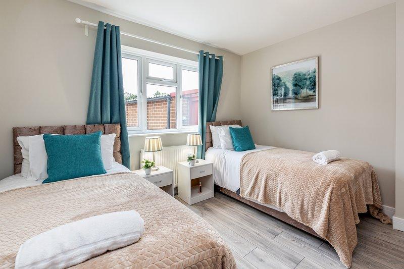 Dormitorio 1 - Grandes camas individuales para 2