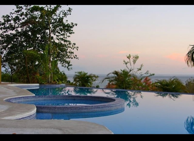Excellent place to enjoy a cold beer and relax or play at the condo's infinity pool.