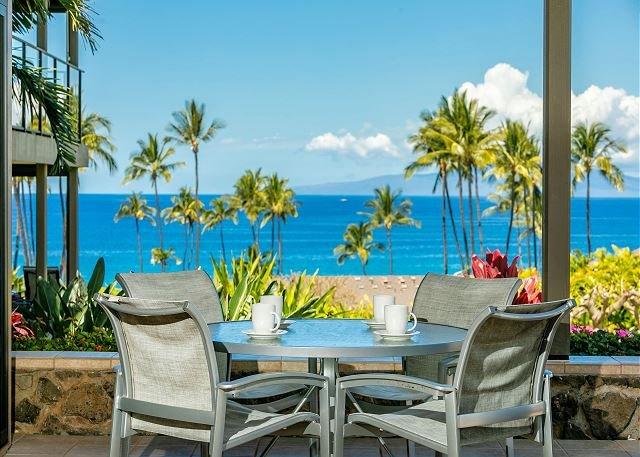 Wailea Elua #2303 2Bd/2Ba Luxury, Ocean View, Ground Flr Central Air Sleeps 4, vacation rental in Kihei