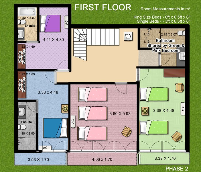 Phase 2 - First floor layout