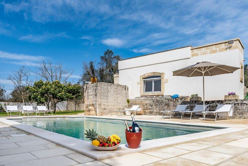 Villa Enea - Poggiardo, casa vacanza a Sanarica