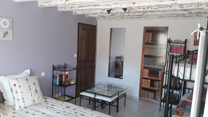 Atypiques Confitures, chambre au rez de chaussée, maximum 4 personnes, vacation rental in Chatillon-sur-Cher