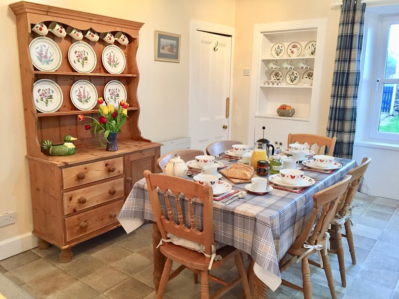 The Country Kitchen in Millpond Cottage