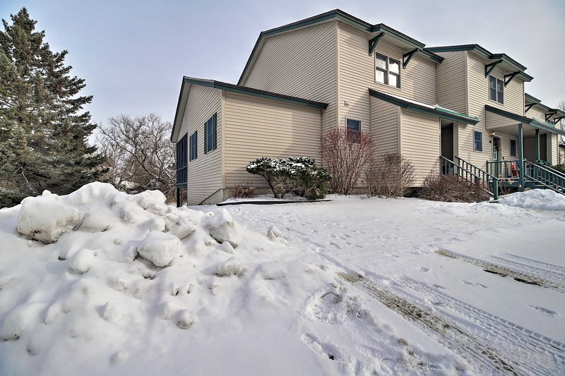 This centrally located townhome awaits!