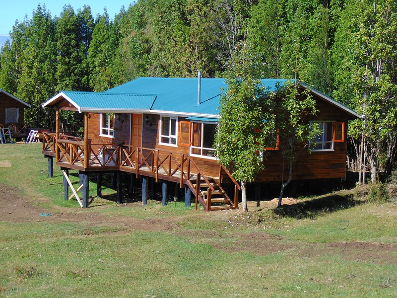 Cabañas Encantos del Sur en Queilén, Chiloé, holiday rental in Los Lagos Region