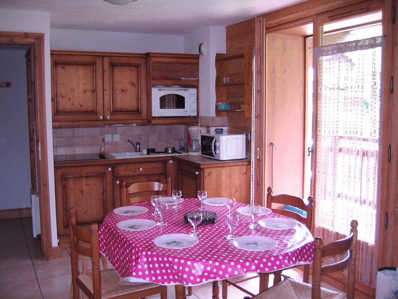 Appartement aux CONTAMINES MONTJOIE, holiday rental in Les Contamines-Montjoie