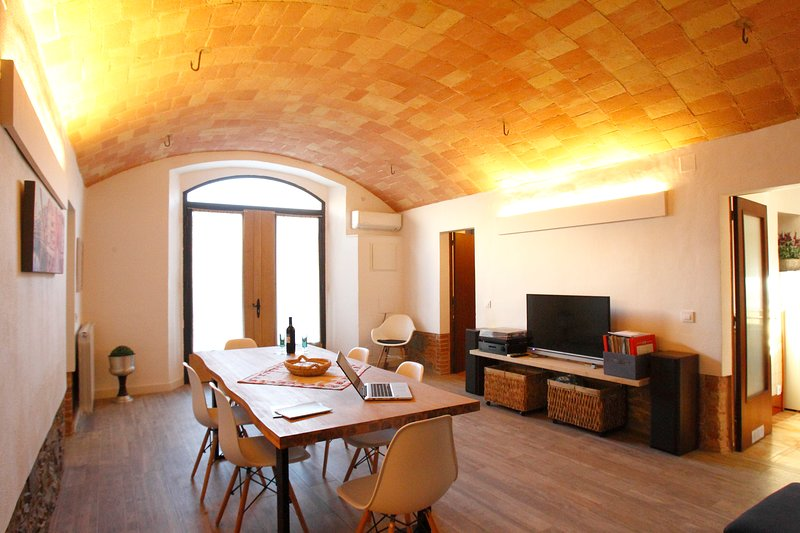 Apartamento tradicional Can Quel, holiday rental in Sant Marti Vell
