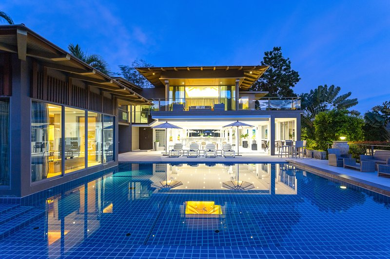 Exclusive Living and Ultimate Privacy Sea view 5 bedrooms, holiday rental in Cherngtalay