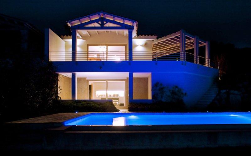 Villa Incanto, with infinity pool and stunning sea views.