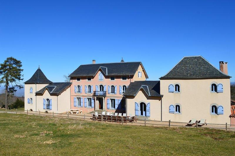 En Dardé 24 -Schitterend Château uit 1800 te huur op 90 hectare bos en grasland, holiday rental in Lacombe