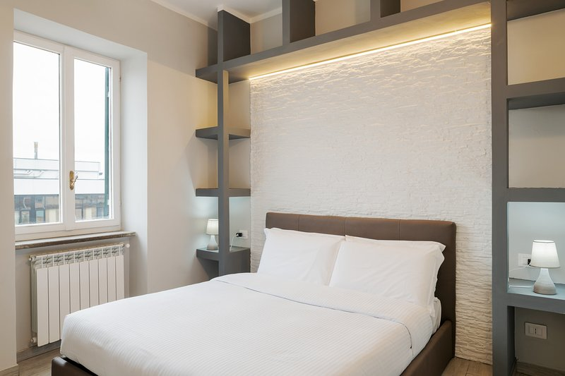 Stylish flat sleeps 2, 15 mins to Vatican Museums Chalet in Rome