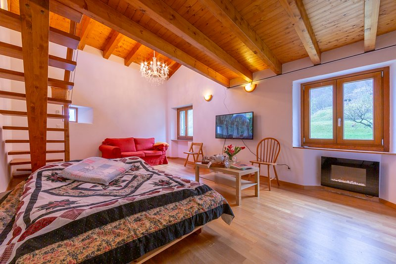 Casa Gialla, holiday rental in Morcote