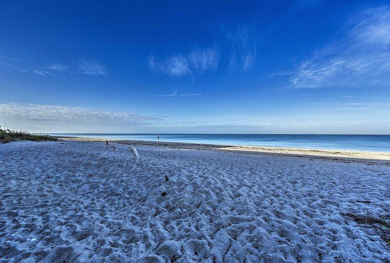 La spiaggia è a breve distanza!