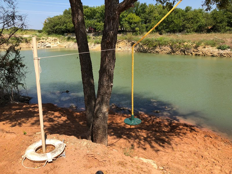 Sand Pit and Rope Swing