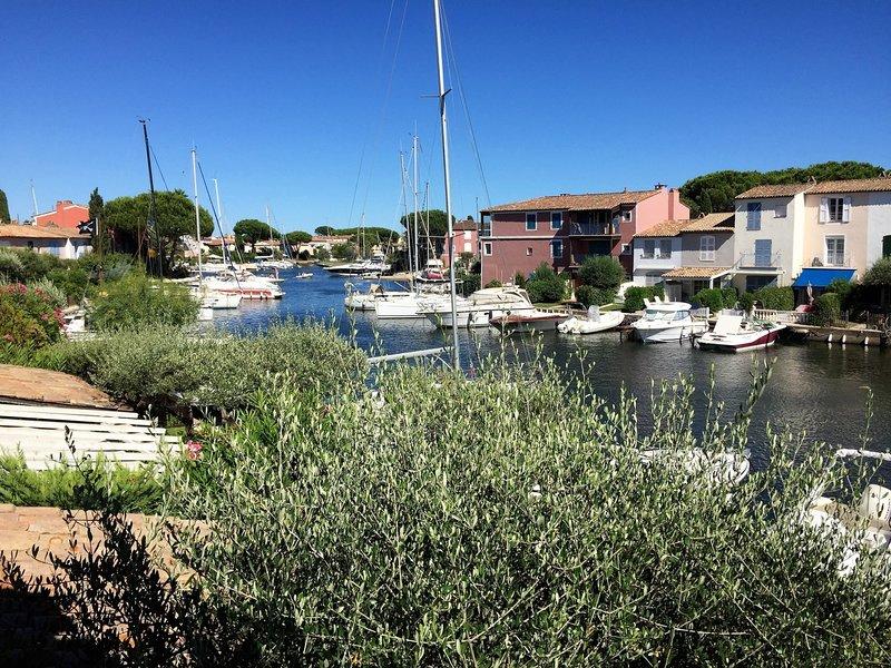 Maison Bleu in Port Grimaud, holiday rental in Port Grimaud