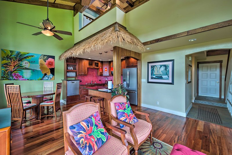 Enjoy a beach getaway to Kauai at this lovely Princeville vacation rental!