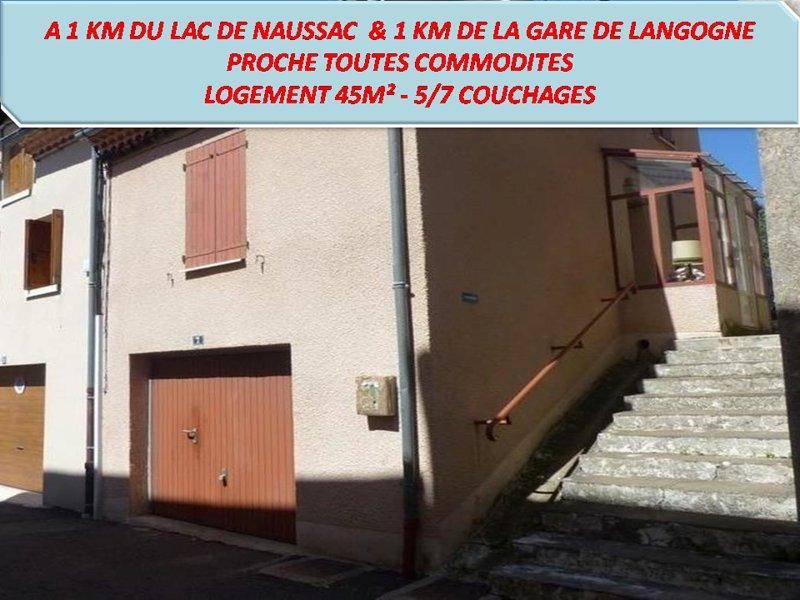 Entre Ville et Lac, vakantiewoning in Lachapelle-Graillouse