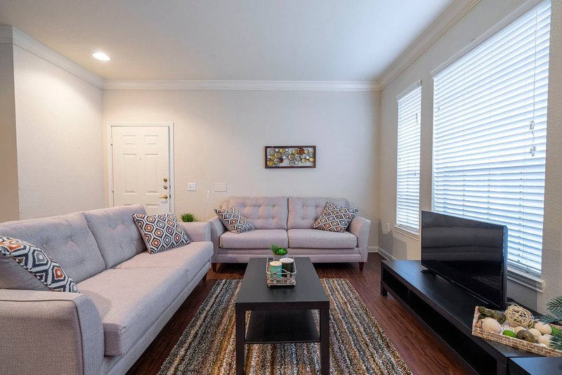Texas Medical Center - MD Anderson - NRG Fully Furnished 2 BD / 2 BH, alquiler de vacaciones en Southside Place