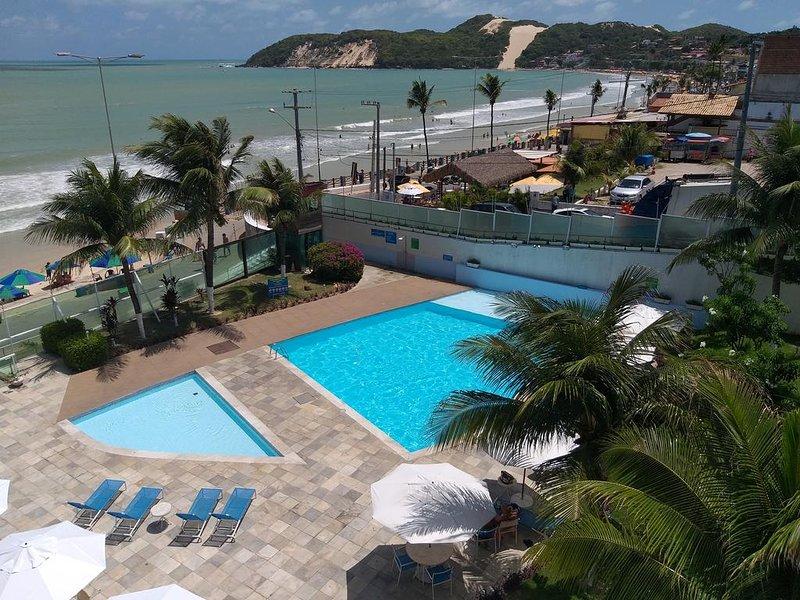 Flat In-Sonia 2 - Apart Hotel frente mar na Praia de Ponta Negra, vacation rental in Natal