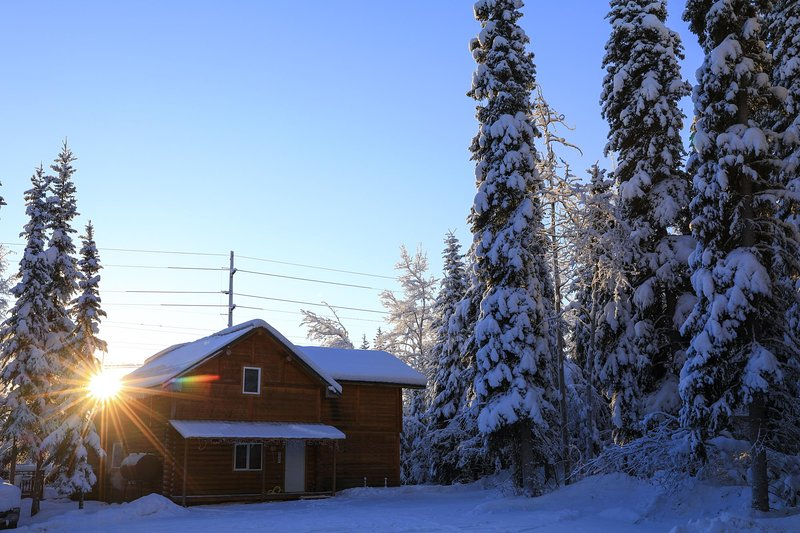 The Cabin in the Woods 1 森林小屋 1, holiday rental in Fairbanks