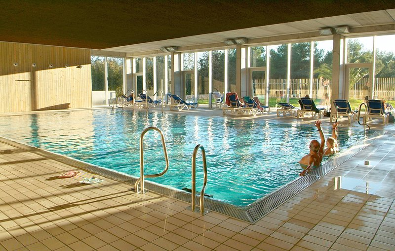 The well-being centre has a heated indoor pool.