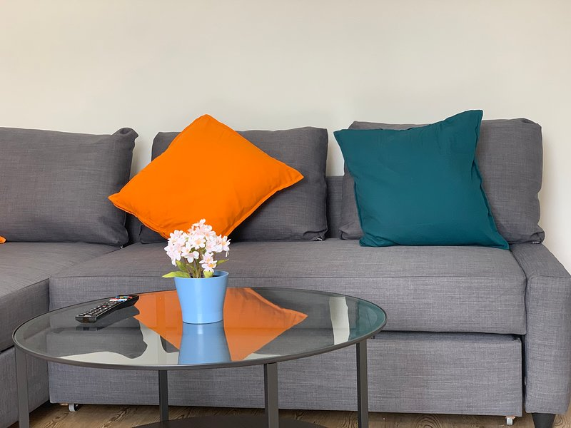 Modern bright apartment  w/ Secure Parking incl, holiday rental in Chigwell