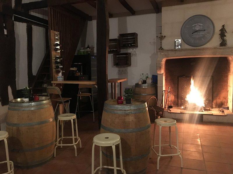 Chambres et table d'hôtes, holiday rental in Sablons