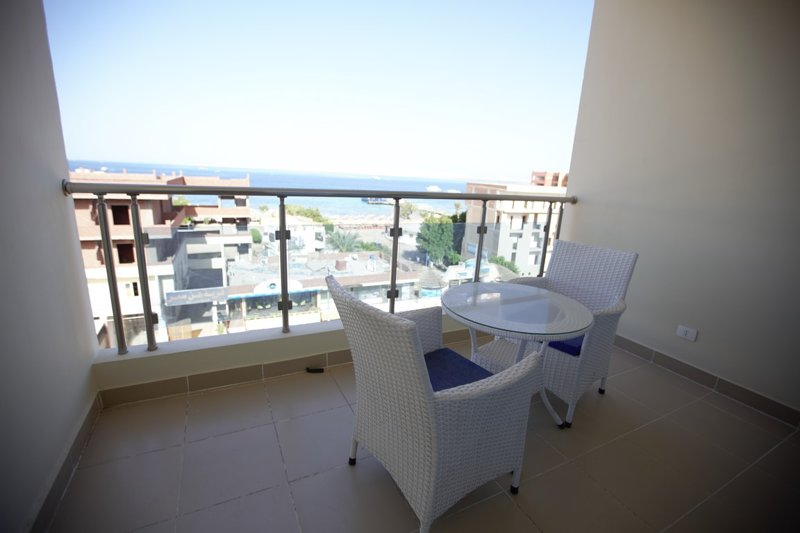 Double room with sea view 318, alquiler vacacional en Hurghada