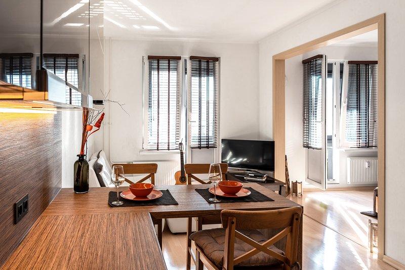 Bright and Cozy Apartment, location de vacances à Bugry