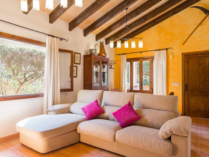 Alga Marina - Fantastic villa with garden in Son Serra de Marina, holiday rental in Son Serra de Marina