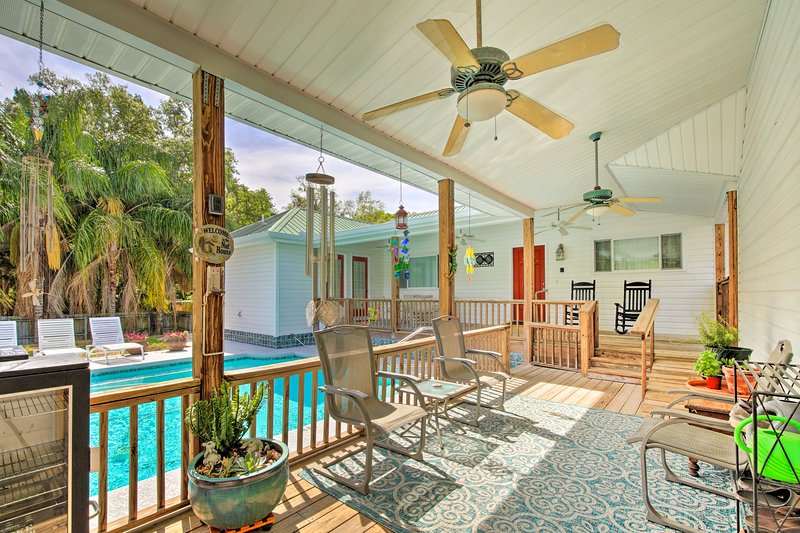 Homosassa Home w/Pool Access - By Boat Launch, holiday rental in Homosassa Springs