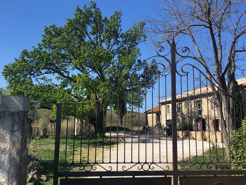 Mas provençal en pierre d'Orange, aluguéis de temporada em Orsan