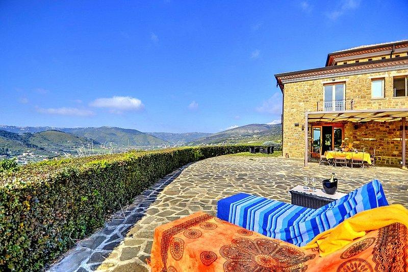 Villa Tuia, holiday rental in Ortodonico Cilento