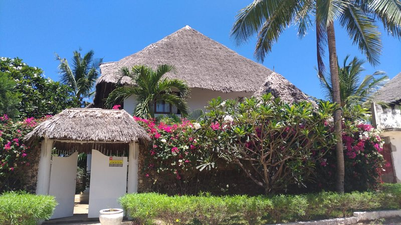 Exterior de la villa.