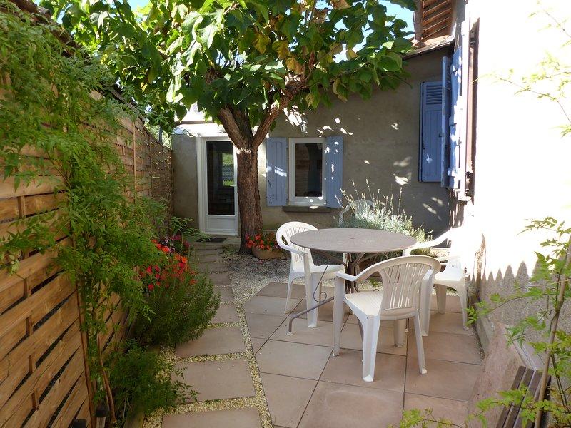 Maisonnette avec petit jardin, holiday rental in Meauzac