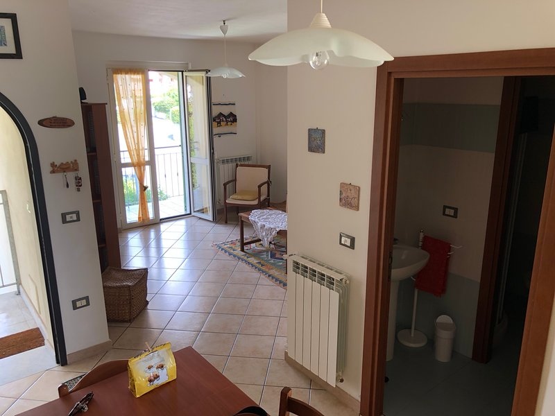 Beautiful apt with terrace, holiday rental in Porredo