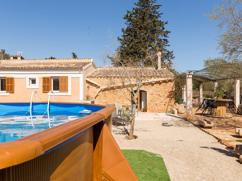Can Joan Des Forn - Spectacular villa with pool in Inca, holiday rental in Inca