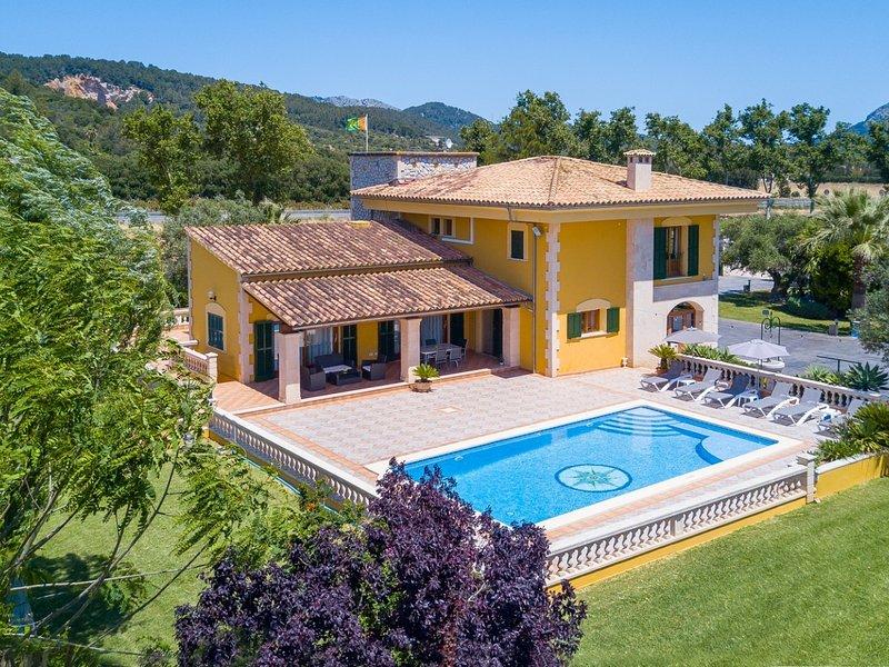 Can Marti Bea - Modern villa with private pool, vacation rental in Sa Pobla
