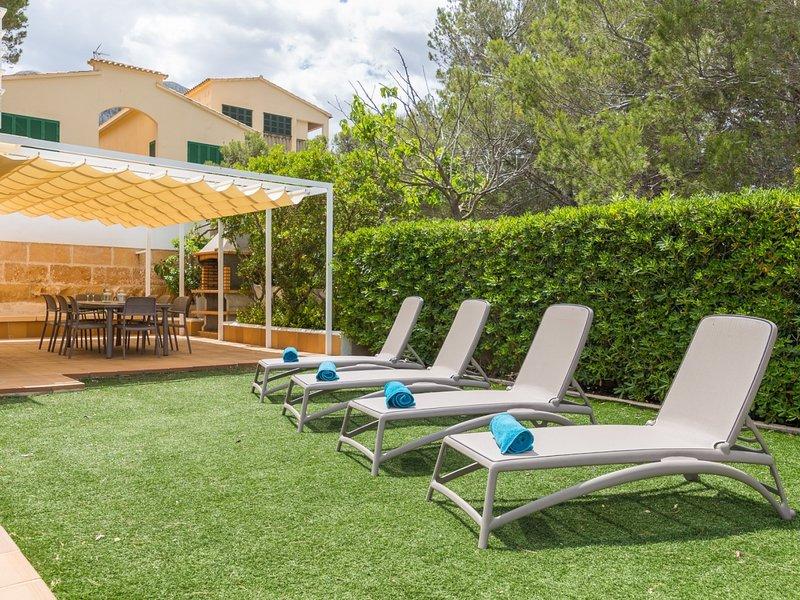 Can Roig - Welcoming villa with garden in Colònia de Sant Pere, holiday rental in Colonia de Sant Pere