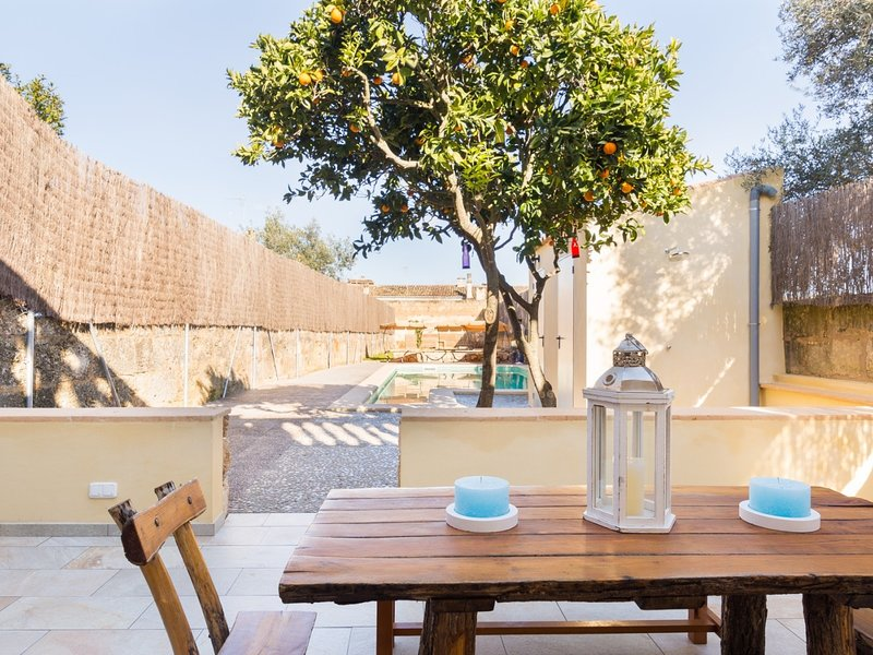 Ca Sa Madrina - Beautiful town house with pool in Ariany, holiday rental in Maria de la Salut